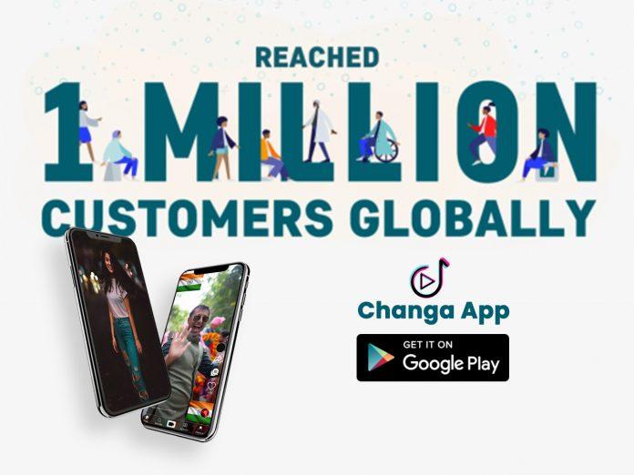 Changa app crosses 1 million downloads