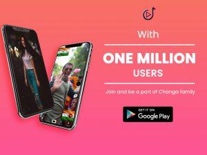 Changa app 2 million mark