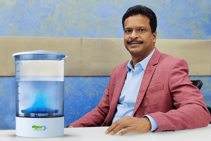 Dr. Babu Sudhakar, the visionary Director of Serene Envirotech Pvt. Ltd