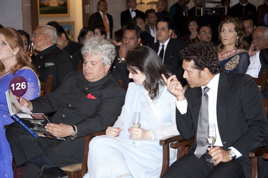 Sachin & Anjali Tendulkar at Bid & Hammer's - The Jodhpur Auction