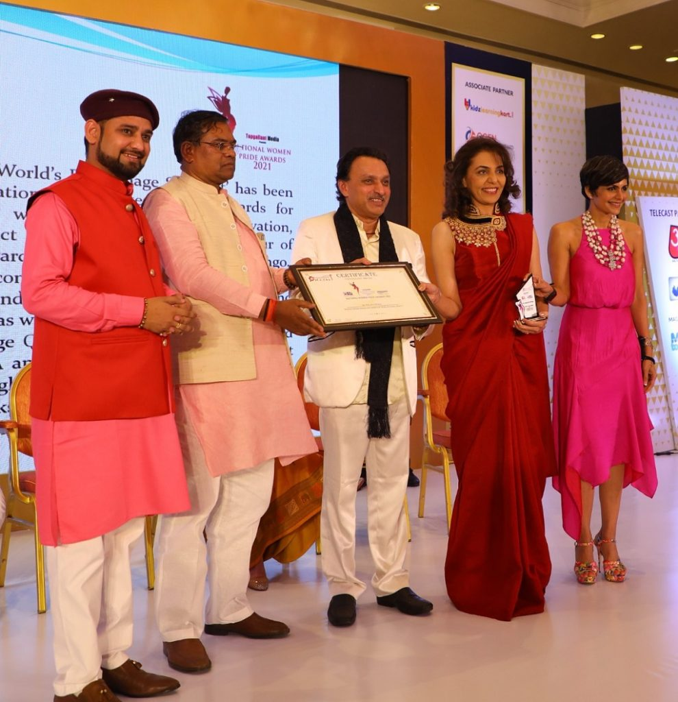 Dr. Kuiljeit Uppaal Honoured With Bharat Gaurav Award