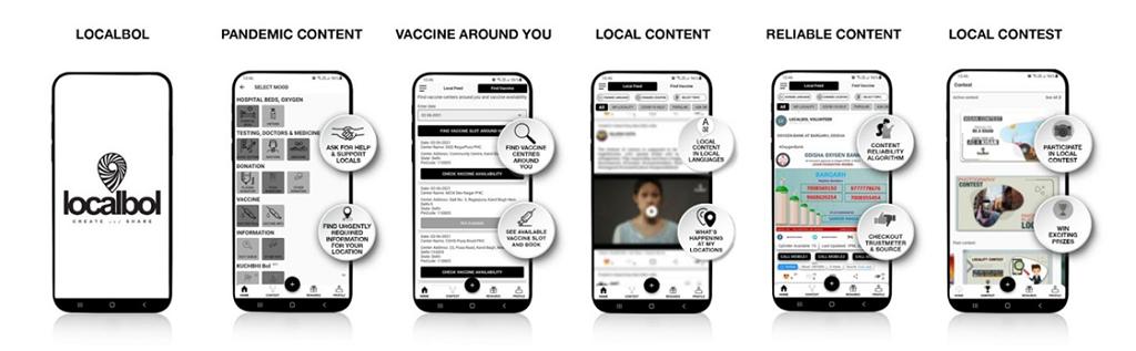 Localbol app