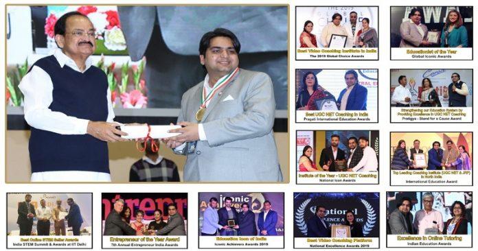 """Rakesh Mehta awarded as """"ACHARYA DEVO BHAV"""